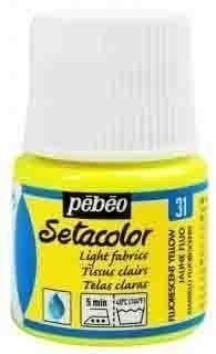 SETACOLOR TEJIDOS CLAROS 45 ML COLORES FLUORESCENTES