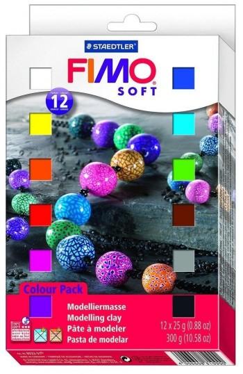 FIMO JUEGO PASTA BASIC 12 COLORES