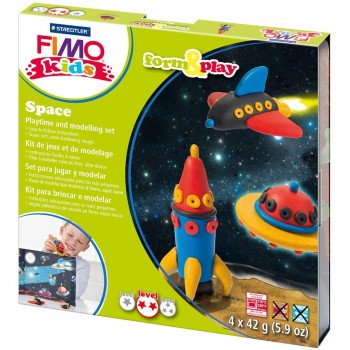 STAEDTLER FIMO KIDS MALETINES KITS TEMATICOS FORM & PLAY
