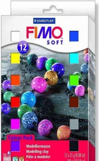 STAEDTLER FIMO JUEGO PASTAS 12 P