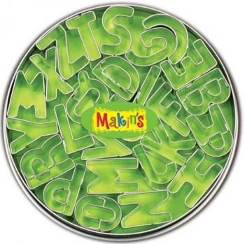 MAKIN'S CORTADORES ALFABETO 26PZ