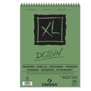 CANSON BLOC ESPIRAL XL DESSIN 50 HOJAS