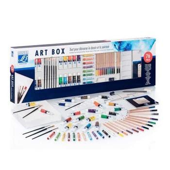 LEFRANC & BOURGEOIS SET ARTE BOX 76 PZS