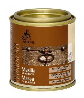 LAKEONE MASILLA DE MADERA NEUTRA 140 GRAMOS