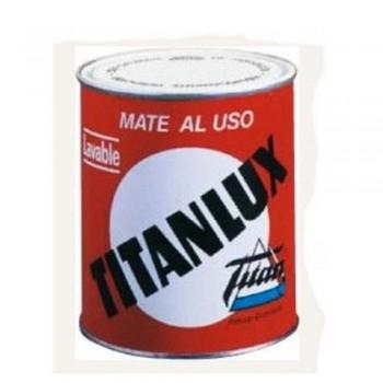 TITANLUX PINTURA PLÁSTICA MATE AL USO BLANCO 750 ML