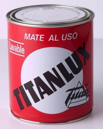 TITANLUX PINTURA PLÁSTICA MATE AL USO BLANCO 750ML